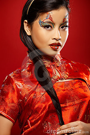 Free Asian Plastic Doll Stock Photography - 4073992
