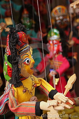 Free Asian Puppets Stock Photo - 15413530