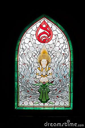 Asian religious icon