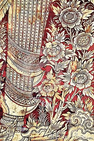 Asian religious pattern