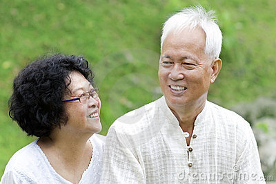 Asian Senior Couple