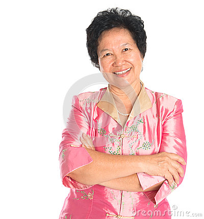 Free Asian Senior Woman. Stock Image - 31518621