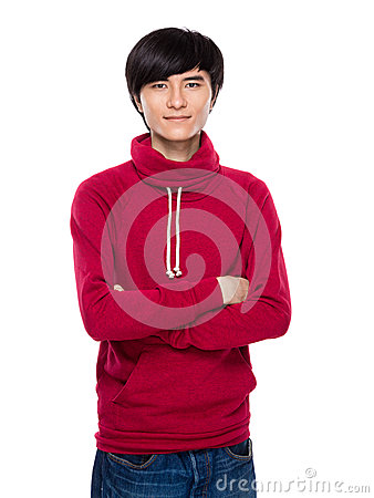 Free Asian Serious Young Man Royalty Free Stock Photography - 43099077