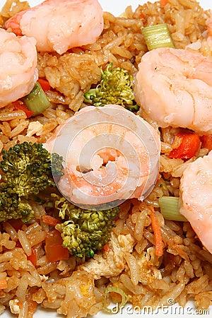 Asian Shrimp Fried Rice