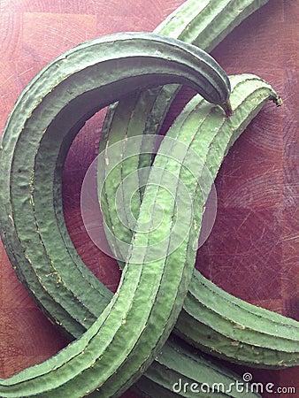 Asian silk squash