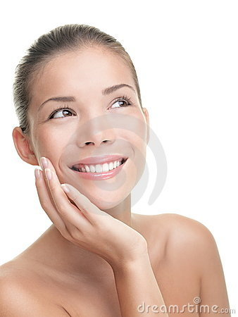 Free Asian Skin Care Woman Stock Photography - 19581322