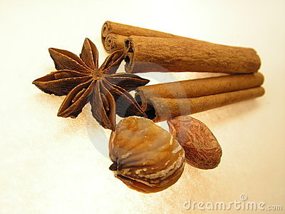 Asian spices and flavors