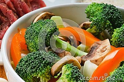 Asian Stir-Fry Ingredients