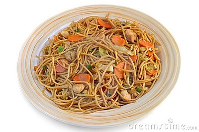 Asian stir-fry noodles