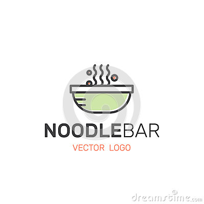 Free Asian Street Fast Food Bar Or Shop, Noodle Meal In A Bowl And Box With Chopsticks Stock Photos - 89100253