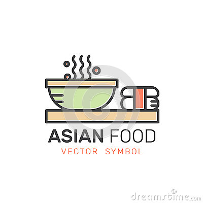 Free Asian Street Fast Food Bar Or Shop, Noodle With Chopsticks Stock Photos - 89474623