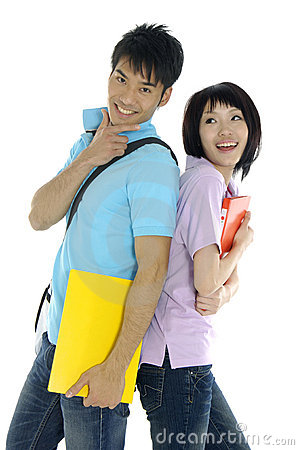 Free Asian Students Royalty Free Stock Image - 9614566