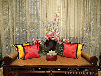 Asian style decor