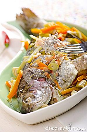 Asian style fish