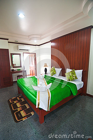 Asian style hotel room
