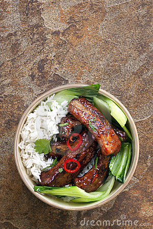 Asian Style Pork Ribs