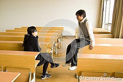 Asian university students