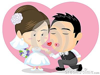 Asian Wedding couple