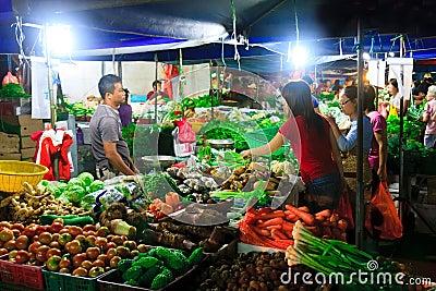 Asian Wet Market Editorial Photo