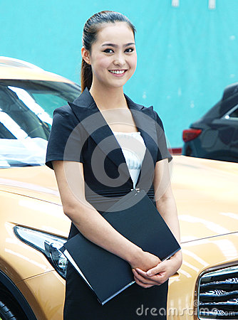 Asian white-collar woman
