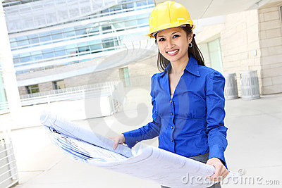 Asian Woman Architect