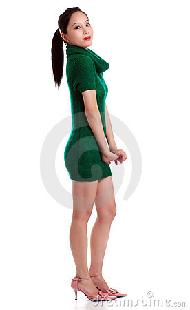 Free Asian Woman Being Shy Royalty Free Stock Photo - 7669355