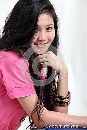 Asian Woman close up