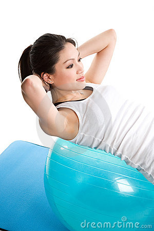 Asian woman exercise