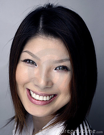 Asian woman headshot
