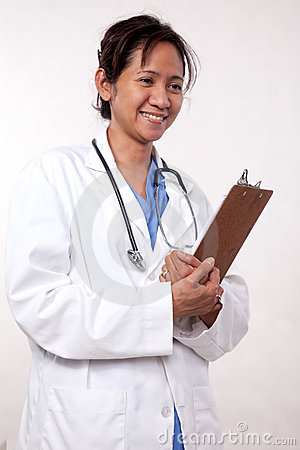 Asian woman medical doctor