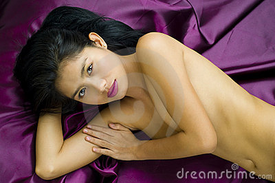 asian woman posing nude