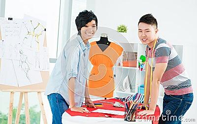 Asian young designer