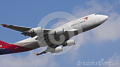 Asiana Cargo Aircraft Editorial Image