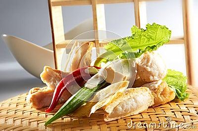 Asiatische chinesische Küche