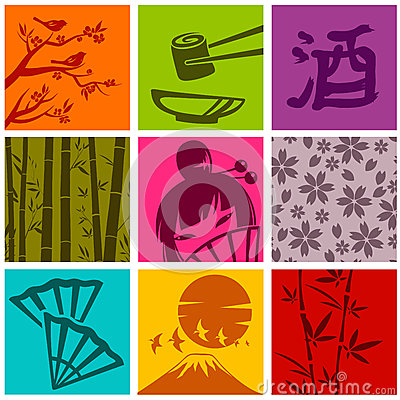 Asiatische Elemente