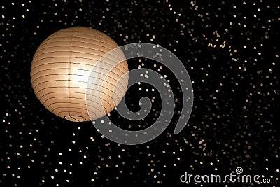 asiatische papierlaterne und leuchten stockbild bild. Black Bedroom Furniture Sets. Home Design Ideas