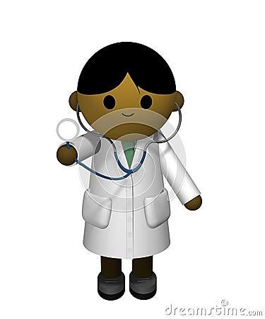 Asiatischer Doktor