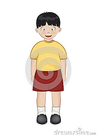 Asiatischer Junge