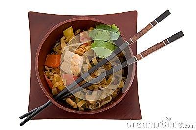 Asiatisches Abendessen