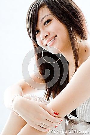 Asiatisches Mädchen