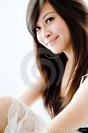 Asiatisk flicka