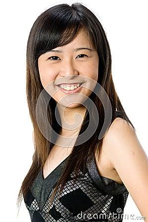 Asiatisk tonåring