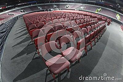 Asientos del concierto