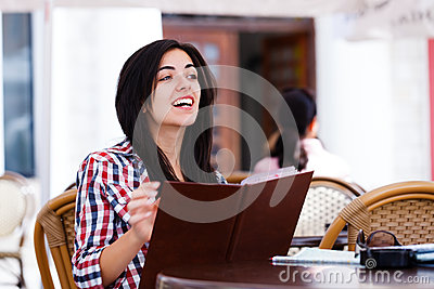 Asking for waitress