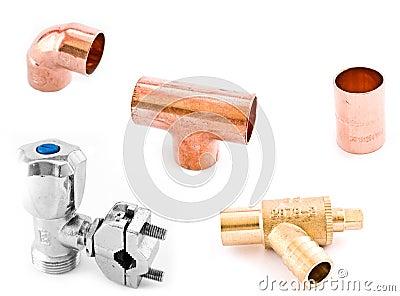 Asorted Plumbing Fittings