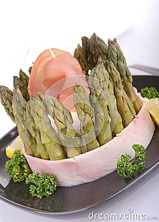 Asparagus charlotte