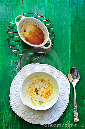 Free Asparagus Creamy Soup Royalty Free Stock Photos - 23849958