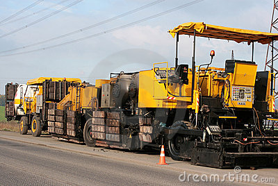 Asphalt machine 1