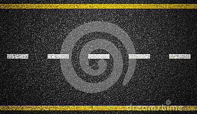 Asphalt road markings background