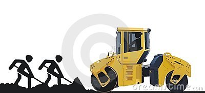 asphalt roller machine